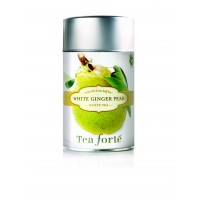 White Ginger Pear Loose Tea Canister