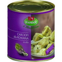 Whole Artichokes with Stems (Romana) 750g